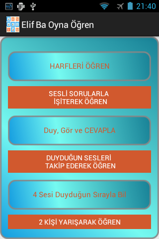 Elif Ba Oynayarak Öğren Sesli Apk Download Free for PC, smart TV