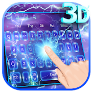 3D Lightning Keyboard Theme