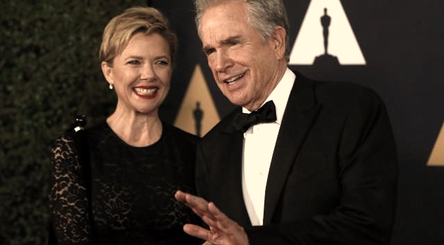 Actors Annette Bening and Warren Beatty. Picture: REUTERS