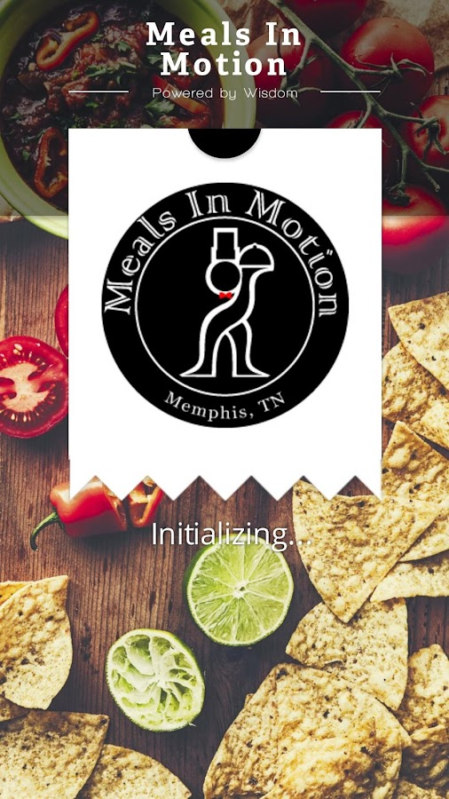 Meals In Motion- screenshot