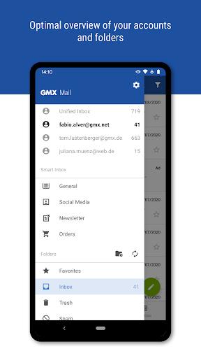 GMX - Mail & Cloud Apk 2