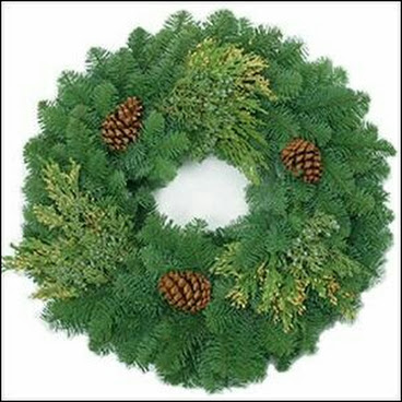 Freshcut Noble fir wreath