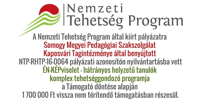 A Nemzeti Tehetség Program - ÉN-KÉPviselet - nyertes pályázat