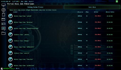 Hackers Online (MMO Simulator) 0.3.6.2 screenshots 13