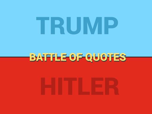 Trump vs Hitler