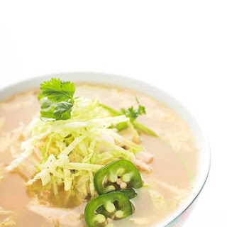 Asian Chicken Cabbage Soup.