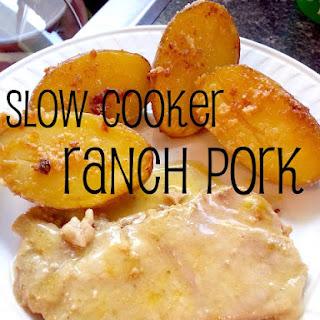 Slow Cooker Ranch Pork.