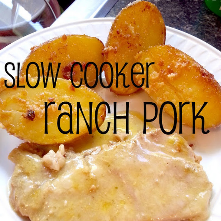 Slow Cooker Ranch Pork