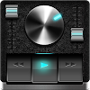 Retro Black skin for Poweramp