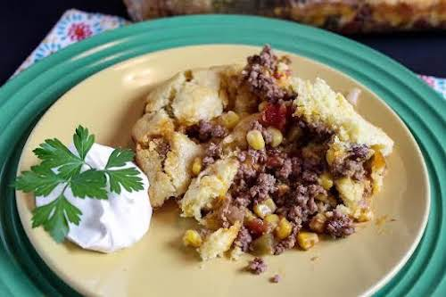 "Mexican Cornbread Casserole""The only problem I had with this dish was... no..."
