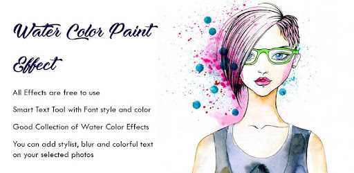 <b>Color</b> Pencil Sketch Effect - Water <b>Paint</b> Art