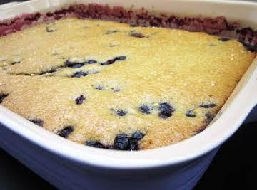 Blueberry Cobbler (Kuchen)