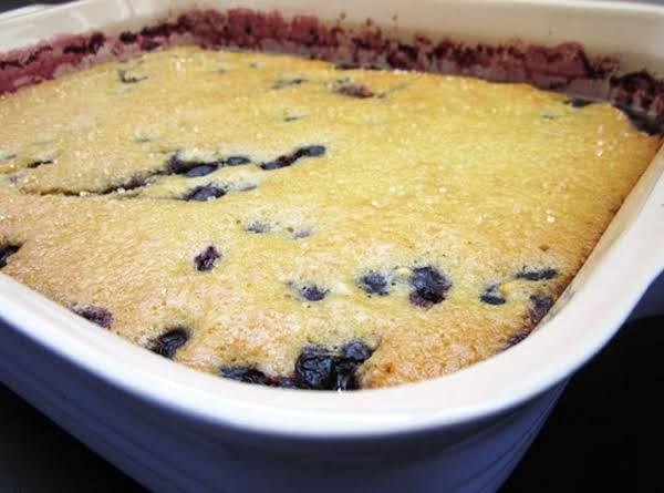 Blueberry Cobbler (kuchen) Recipe
