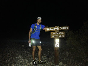 Photo: 6 miles into the journey, feeling like crap, but time to forge on, only 11,500' of up to the next peak...