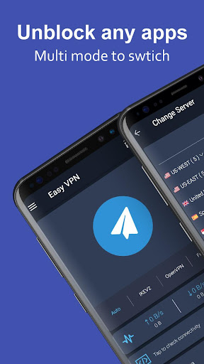 Easy VPN - Free VPN proxy master, super VPN shield 1.9.4 screenshots 1