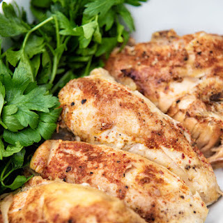 Simple Slow Cooker Chicken.
