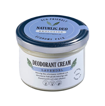 Naturlig Deo - Lavendel Economy Pack 200 ml