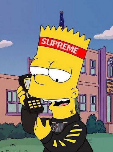 Download Supreme X Bart Simpson Google Play softwares ...