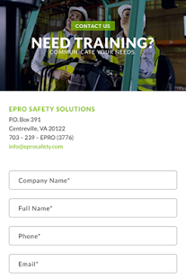 EPRO Safety- screenshot thumbnail