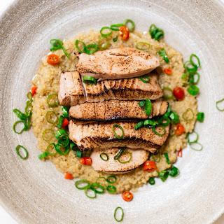 Seared Tuna (or Salmon!) Bowl