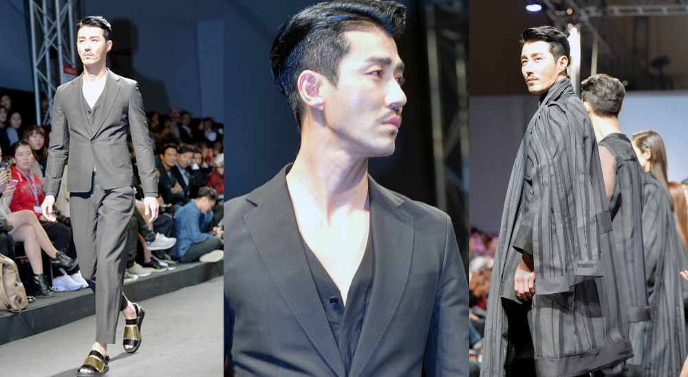 "Son Seung Won: Cha Seungwon Makes 1st Public Appearance At ""Seoul Fashion"