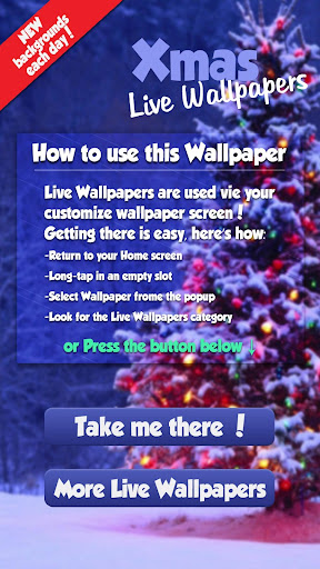 Xmas Live Wallpapers