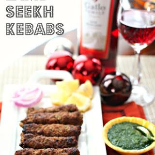 Lamb Seekh Kebabs #SundaySupper
