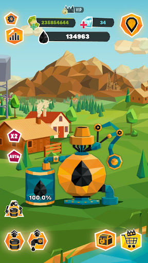 Idle Oil Tycoon: Gas Factory Simulator 3.5.7 screenshots 5