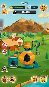 Idle Oil Tycoon: Gas Factory Simulator Mod Apk 4.1.9 (Inexhaustible Money) 5