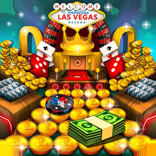 Casino Vegas Coin Party Dozer (game)