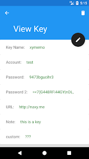 XyKey Screenshot
