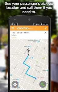 ZabCab Driver - For Taxi Cabs screenshot 2