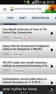 Central Government News App Download For Android and iPhone 4