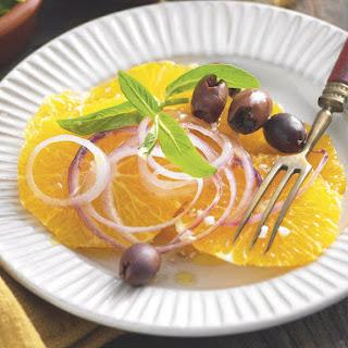 Orange, Onion and Olive Salad