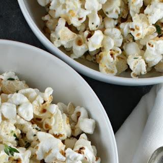 Garlic, Thyme & Parmesan Popcorn