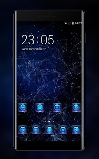 Galaxy 3D live wallpaper & night sky theme - náhled