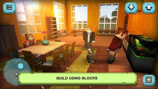 Dream House Craft: Design & Block Building Games 1.2 screenshots 1