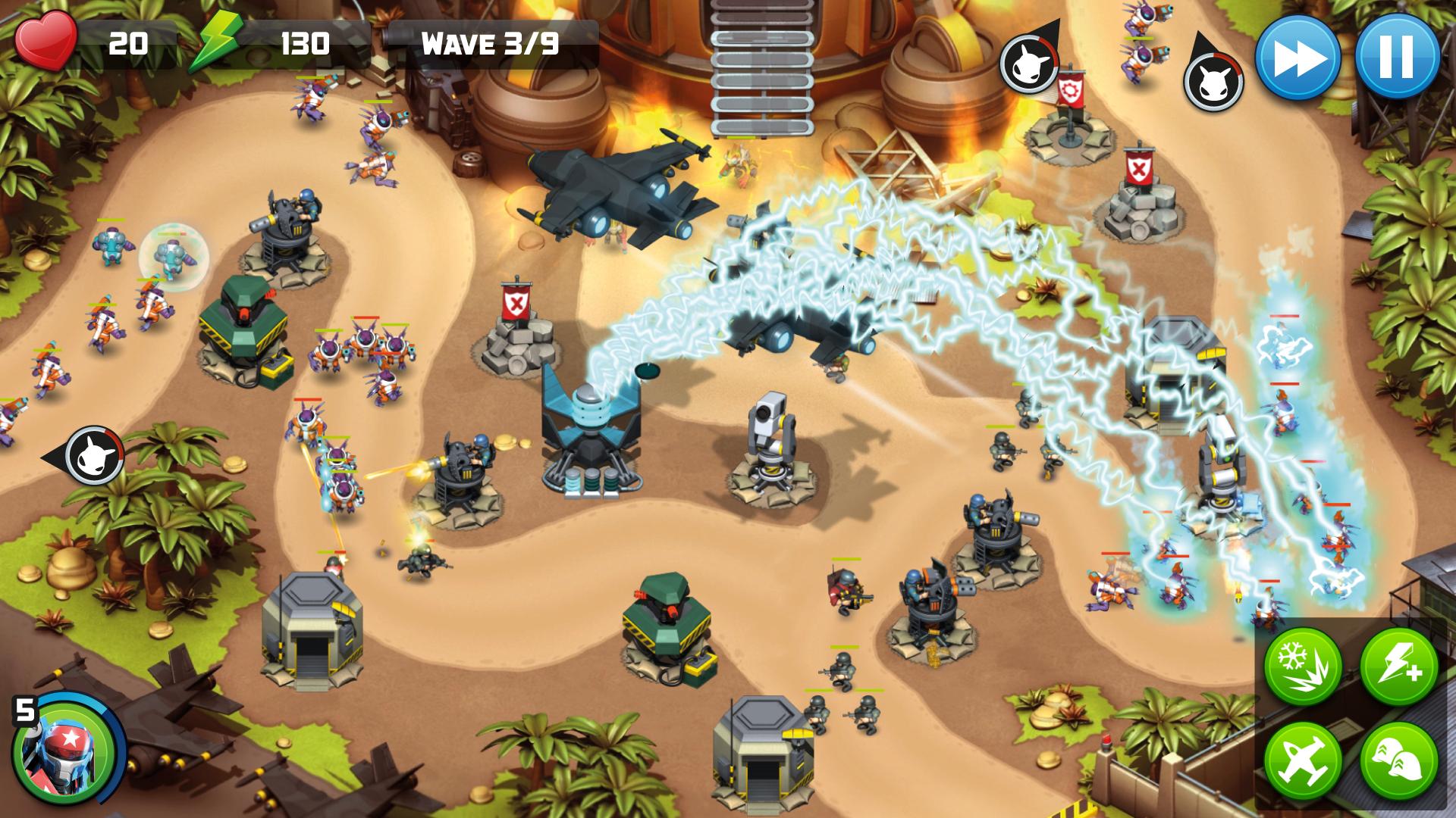 Alien Creeps TD screenshot #6