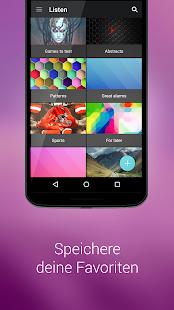 ZEDGE™ Klingeltöne und Hintergründbilder Screenshot