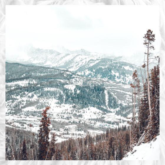 Winter Landscape - Instagram Post Template