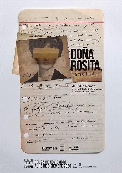 Doña Rosita anotada
