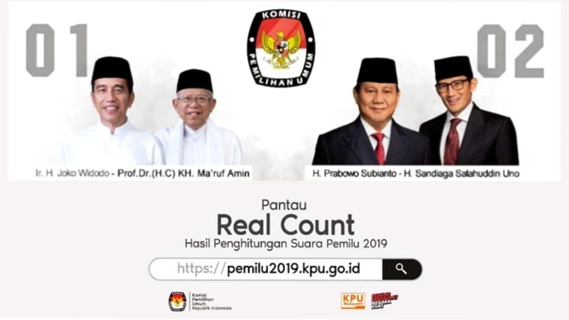 Situs Pantau Pemilu 2019