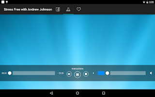 Screenshot of Stress Free - Andrew Johnson