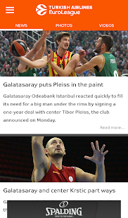 Euroleague Mobile- screenshot thumbnail