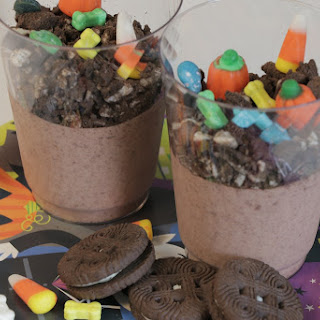 Halloween Graveyard Pudding.