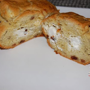 Goat Cheese and Raisin Loaf