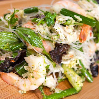 Prawn and Chicken Thai Salad