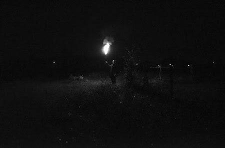Verteltocht in het donker