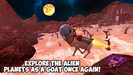 Space Goat Simulator 3D – 2 screenshot 4