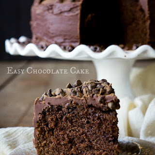 No Rules Easy Chocolate Cake